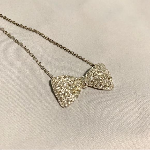Jewelry - Diamond Bow Necklace
